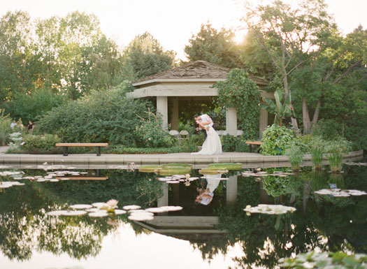 A whimsical vintage garden party at the denver botanic gardens colorado weddings magazine for Denver botanic gardens wedding