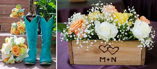 Backyard Western Wedding Ideas :  Weddings across Colorado A Backyard Country Romance  Wedding Ideas