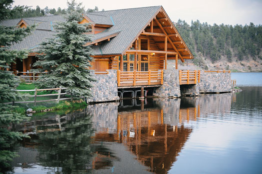 Simply Perfect At Evergreen Lake House Colorado Weddings
