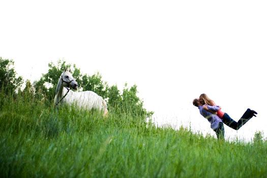 Equestrian Engagement Shoot, Denver Colorado