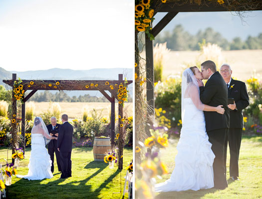 Rustic Comfort Wedding in Colorado
