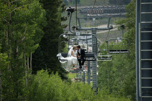 From the magazine destination crested butte mountain for Uley s cabin crested butte wedding