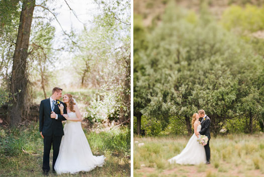 Rustic Vintage Wedding in Ridgway, Colorado
