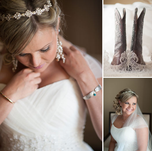 A fun wedding in Snowmass with a rustic twist