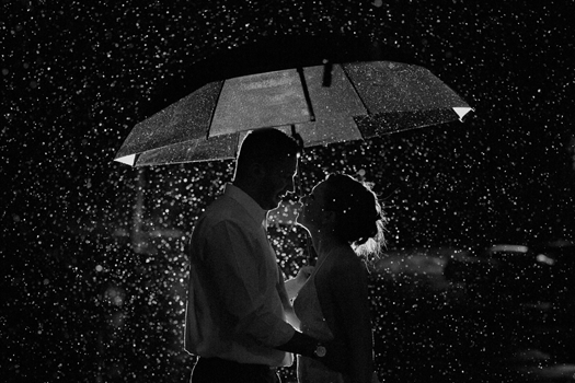 A Wedding in the Rain