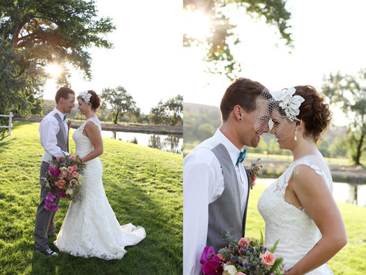 A Fun Backyard Vintage Wedding in Montrose