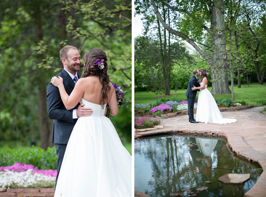 A Casual Garden Wedding in Boulder from Devon K Photography