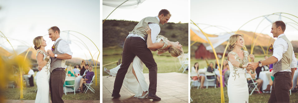 Simple, DIY ranch wedding in Meeker Colorado