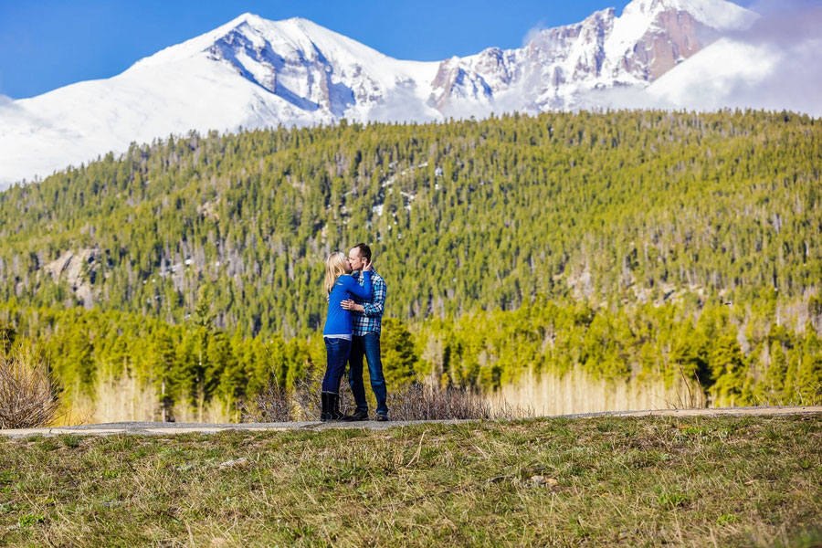A Surprise Proposal in the Rocky Mountains