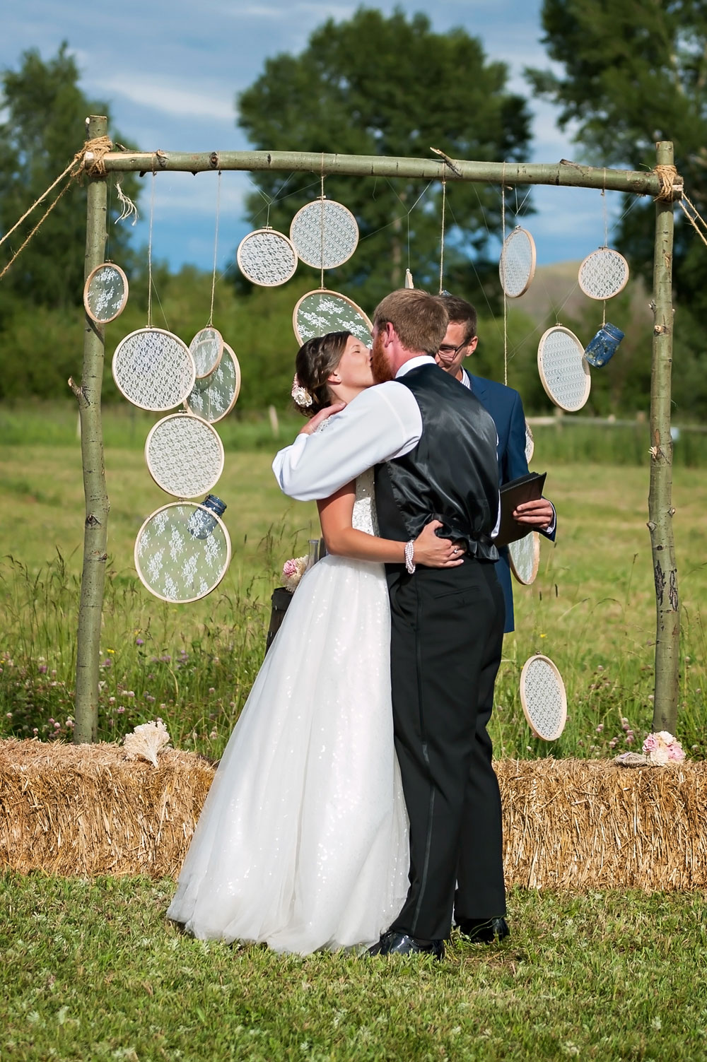 An Intimate Simple Ranch Wedding in Gunnison Colorado