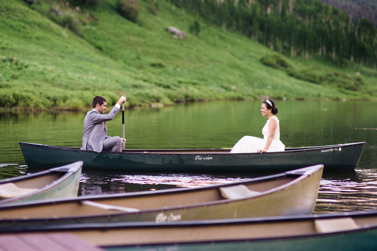 A Fun & Relaxed Colorado Wedding