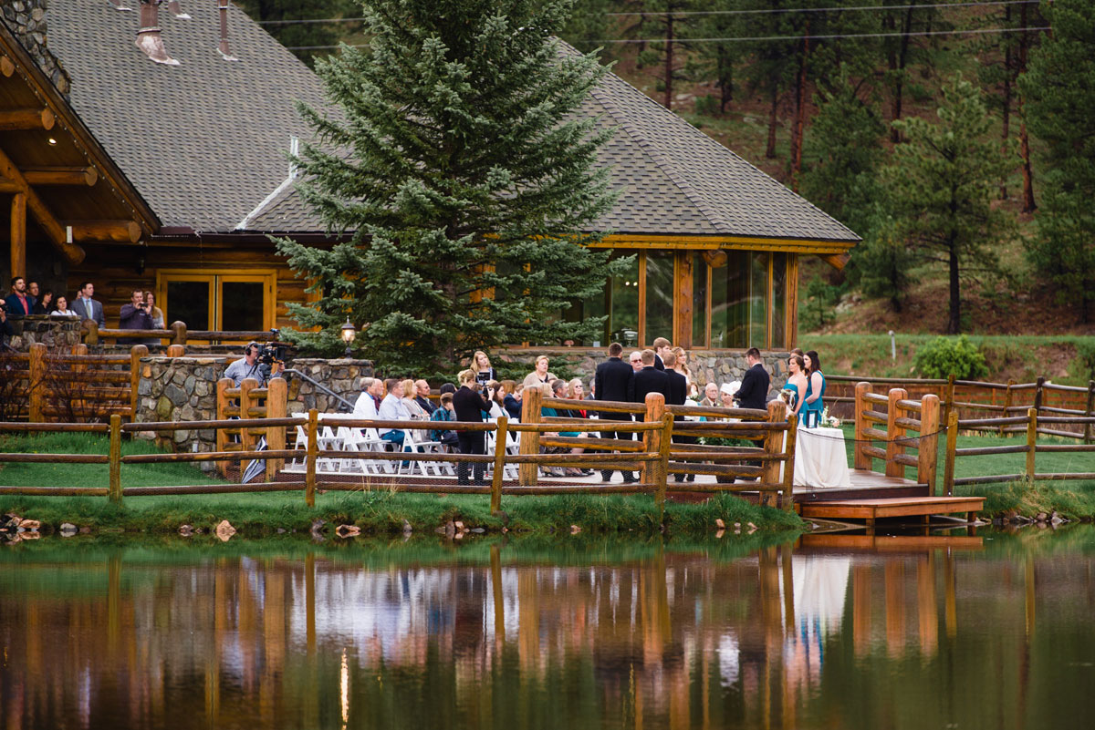 A Spring Wedding At Evergreen Lake House Colorado