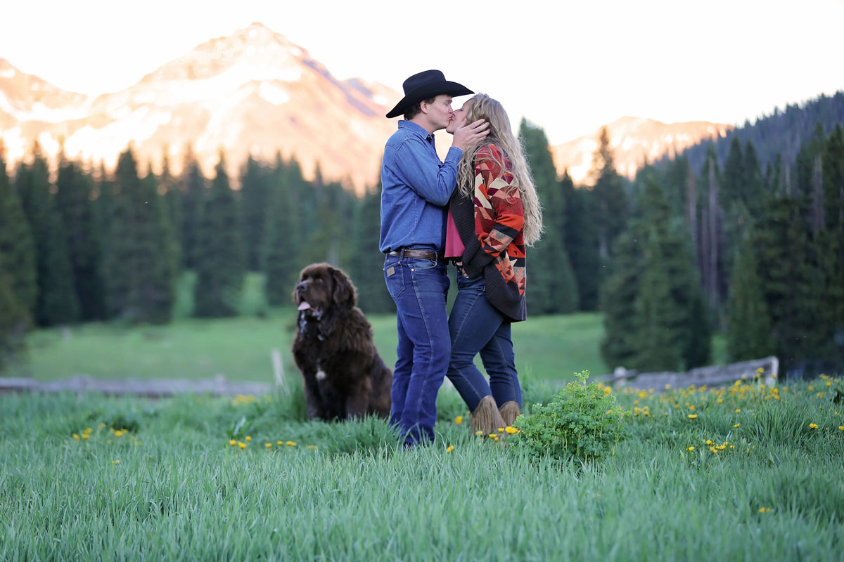 A Colorado Country Ranch Engagement Session