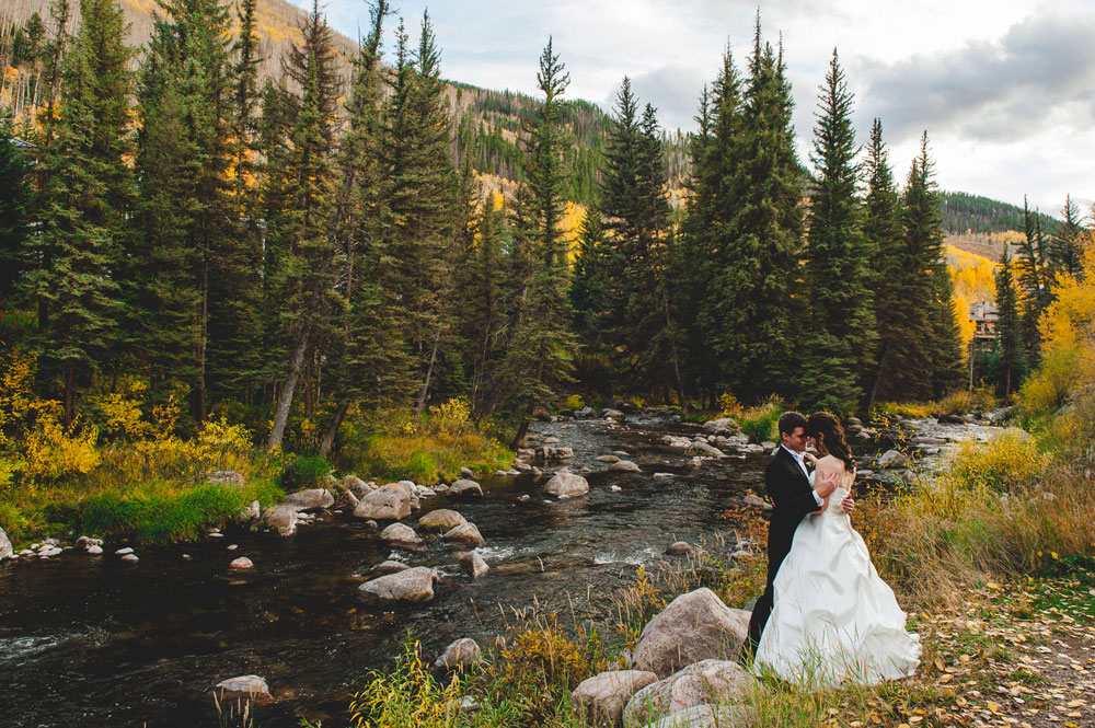 An Autumn-Meets-Winter-Wonderland Wedding, Vail Colorado