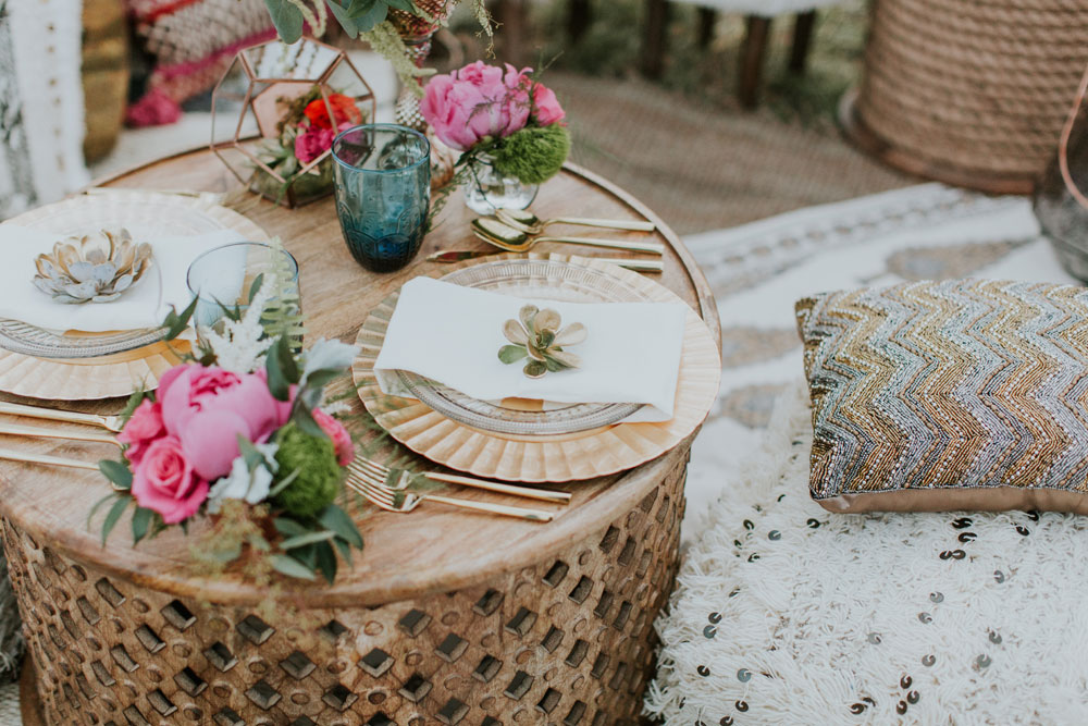 Intimate Red Rocks Moroccan Wedding Inspiration in Colorado