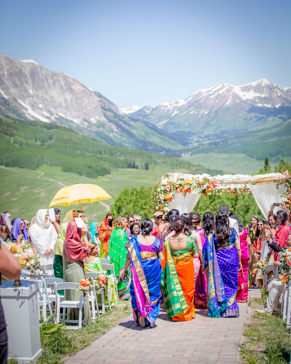 Crested Butte Mt Wedding
