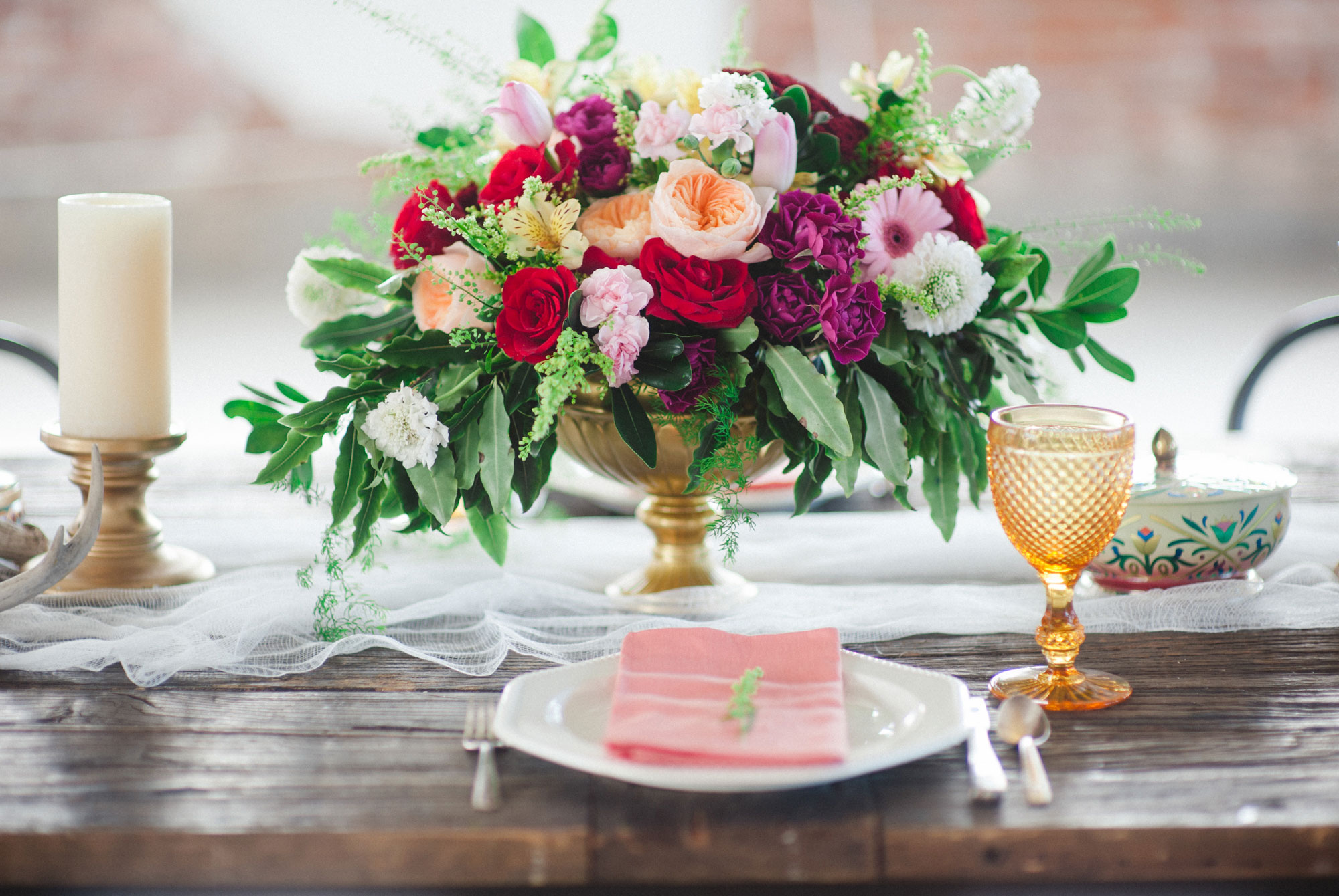 Styled Shoot: Boho Meets Industrial Modern