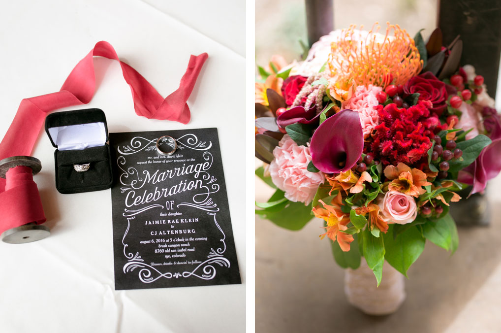 A Western Style Wedding in Colorado