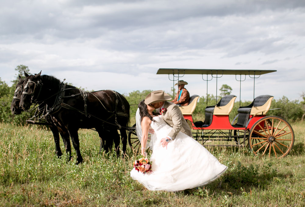 A Western Style Wedding in Colorado