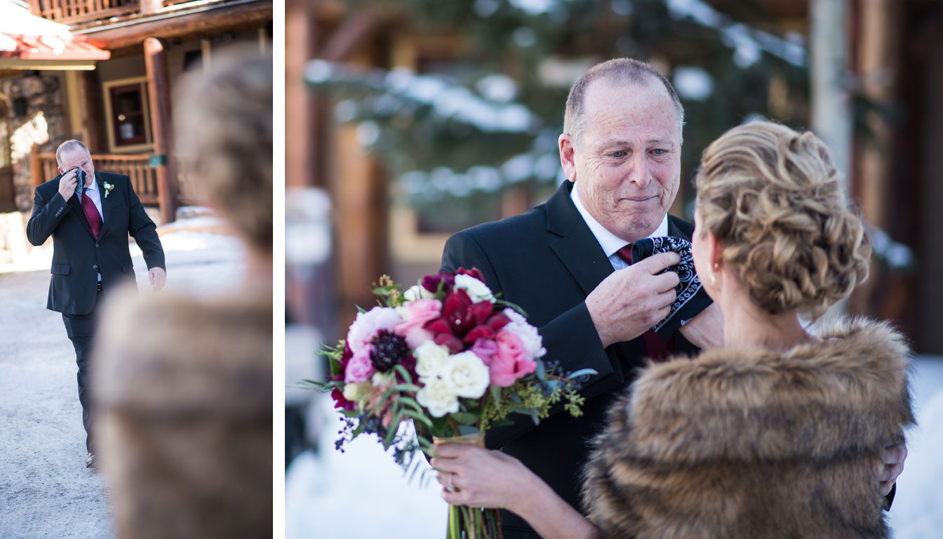 A Winter Destination Wedding in Breckenridge, Colorado