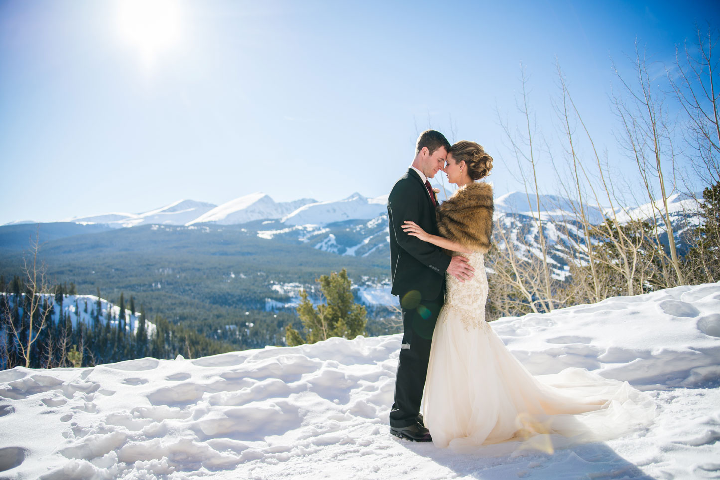 Colorado A Winter Destination Wedding In Breckenridge