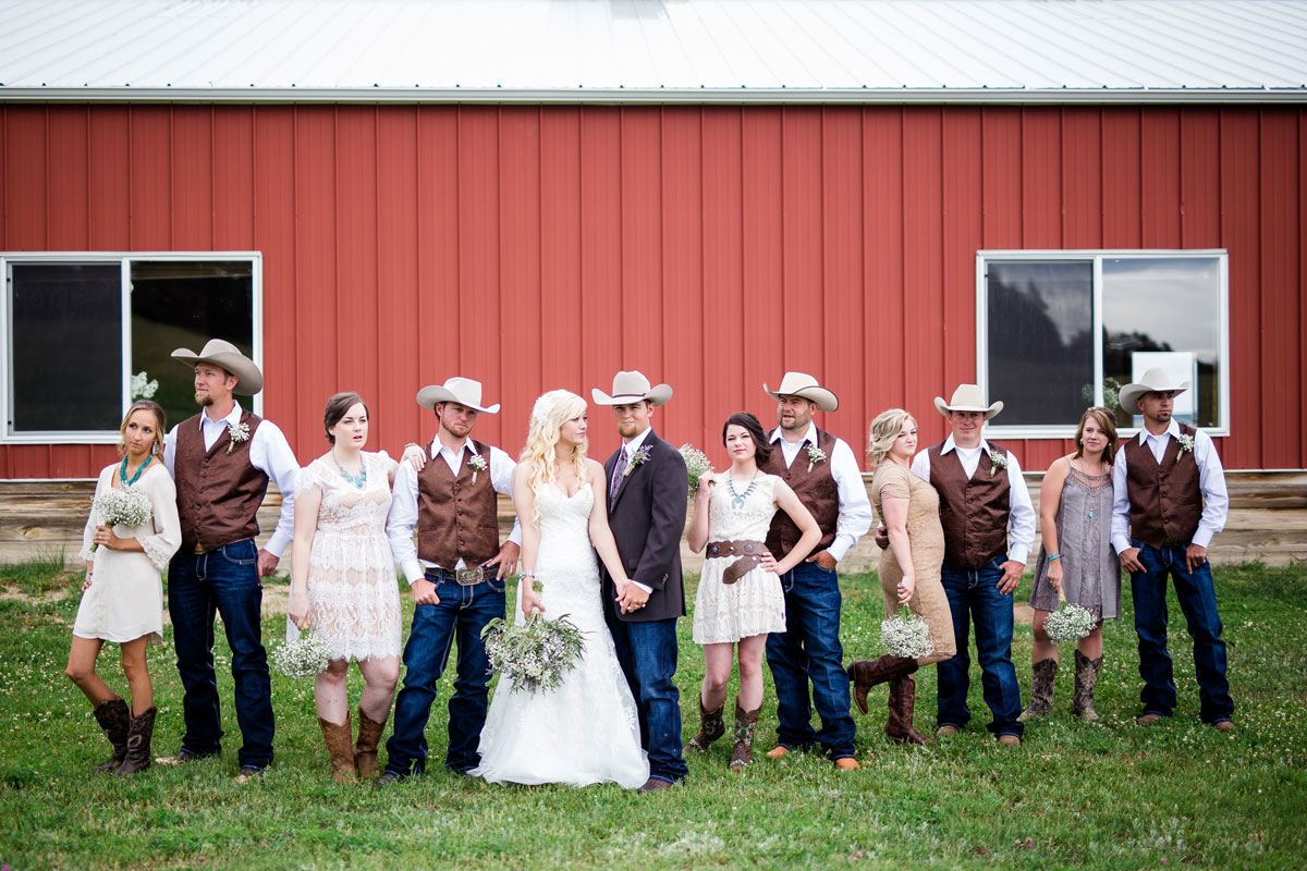 A Country Wedding on a Colorado Ranch