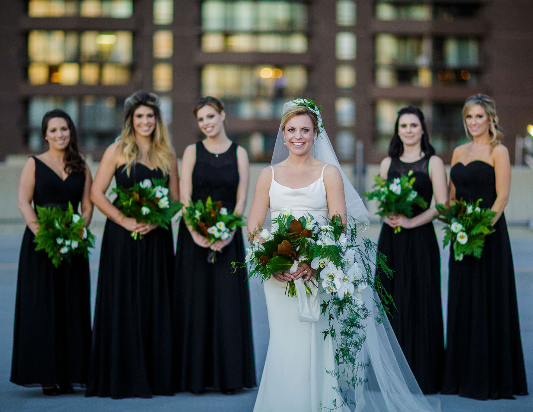 A Minimalist Industrial Wedding in Denver