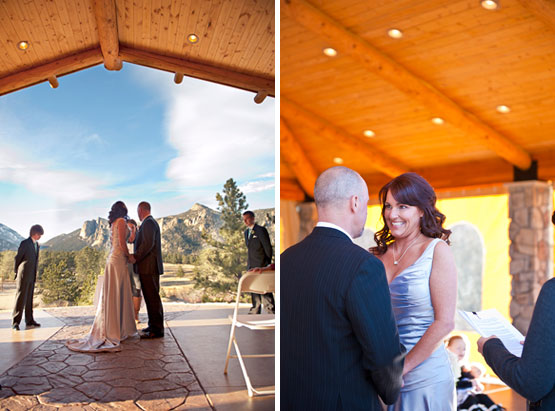 An Intimate Ceremony In Estes Park