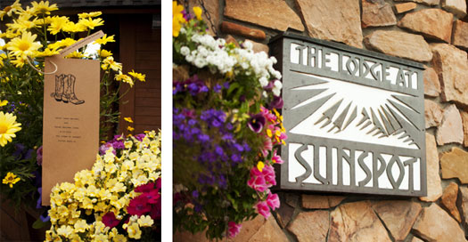 The Lodge at Sunspot, Pick Me! Floral & Event Design