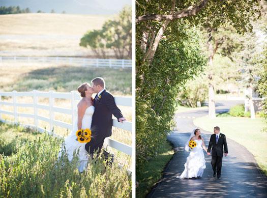 Rustic Comfort Wedding in Colorado