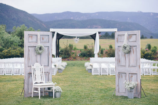 A Rustic Shabby Chic Wedding