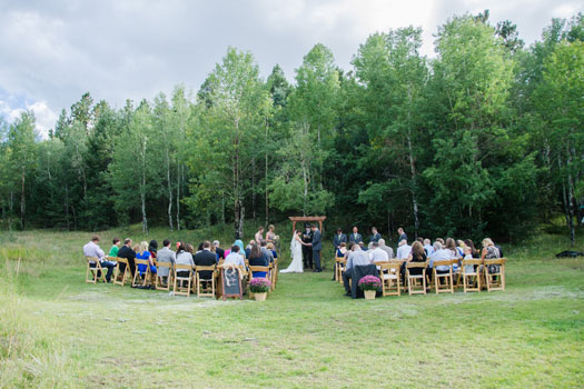 Colorado Wedding, Pine, Colorado