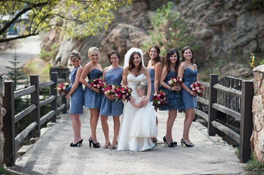 A Wedding with Outdoorsy Flair at Evergreen Lake House