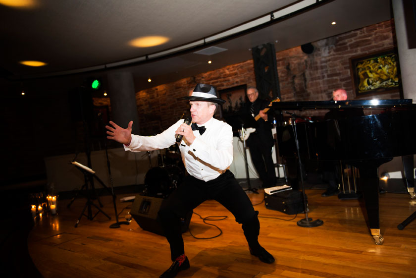 Rat Pack/Frank Sinatra Themed Wedding in Denver