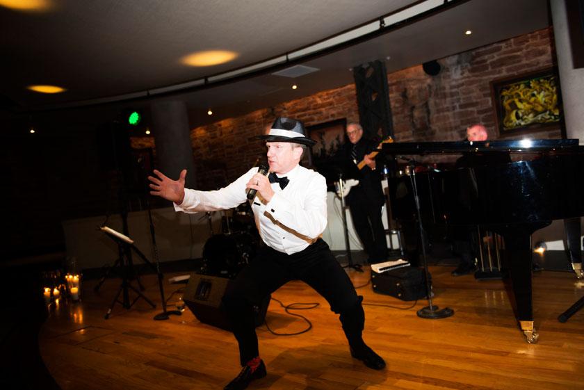Rat Pack/Frank Sinatra Themed Wedding in Denver