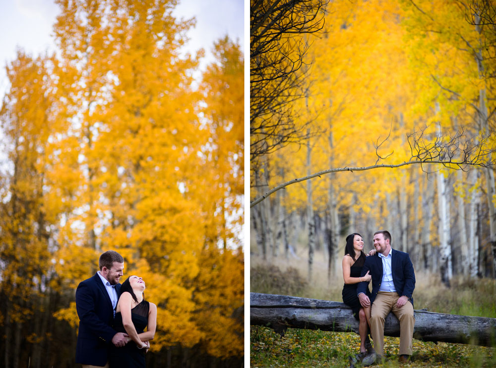 Engagement Shoot: Autumn in the Colorado Mountains