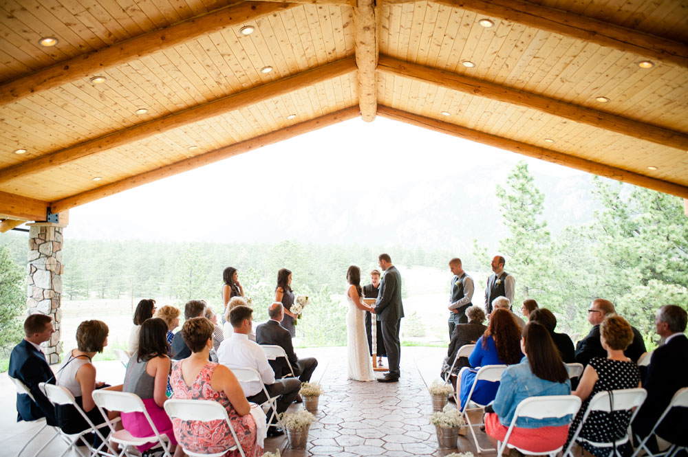A Simple Mountain Rustic Wedding at Twin Owls Steakhouse, Estes ark Colorado
