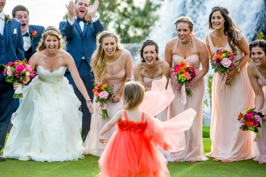 An Elegant Pink & Gold Colorado Wedding