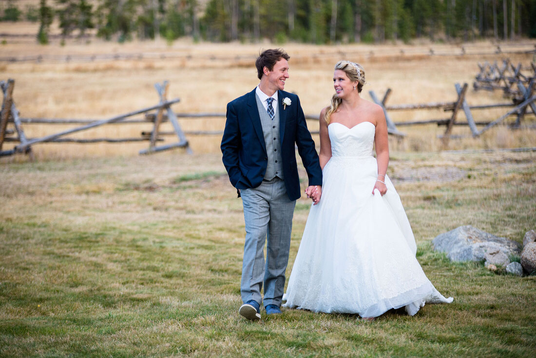 A Nature Inspired Wedding at Devil's Thumb Ranch