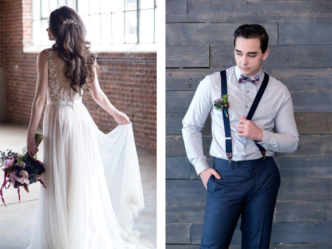 Urban Chic Wedding Styled Shoot in Denver, Colorado