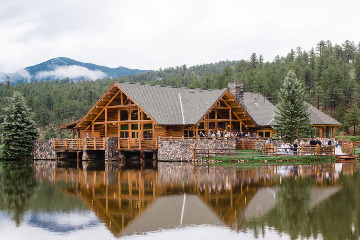 A Spring Wedding At Evergreen Lake House Colorado