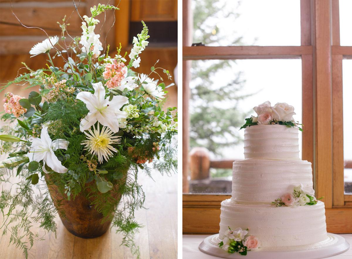 A Spring Wedding at Evergreen Lake House, Colorado