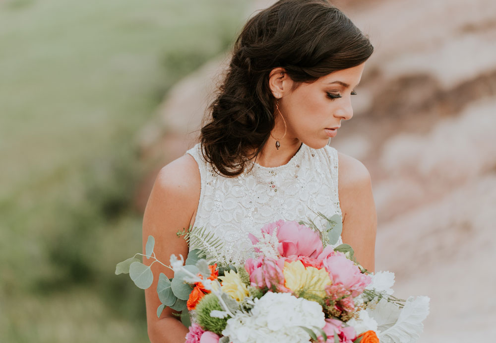 Intimate Red Rocks Moroccan Wedding Inspiration