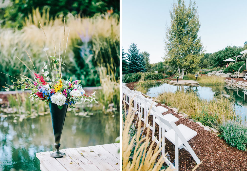 A Garden Wedding at Flying Dog Ranch
