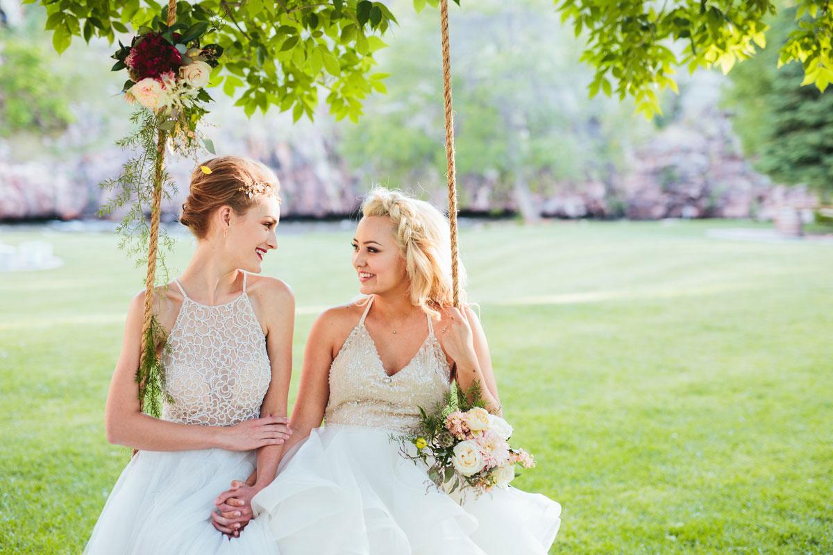 На свадьбе лесбиянки — photo 12