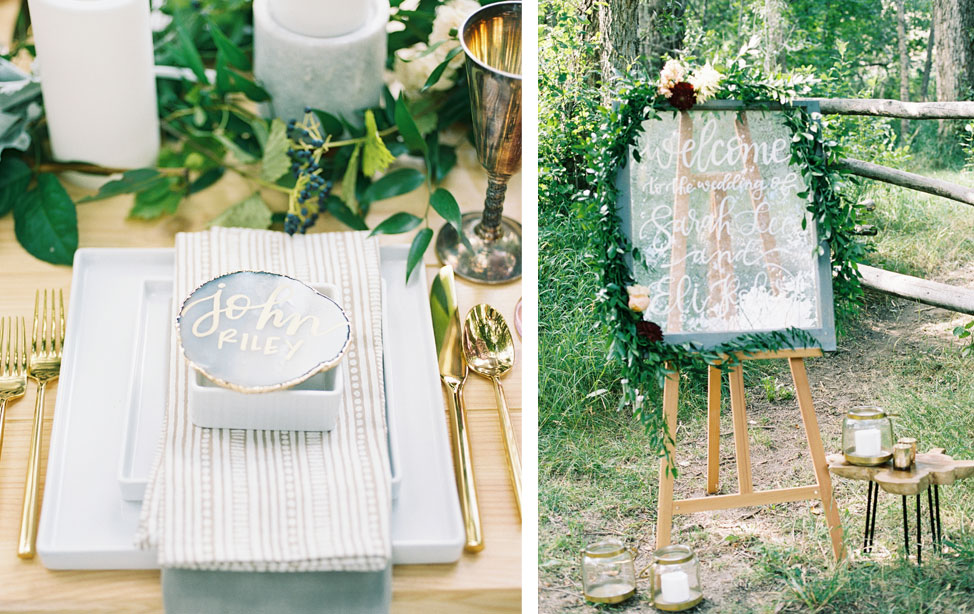 Nature-inspired Wedding Shoot in Colorado