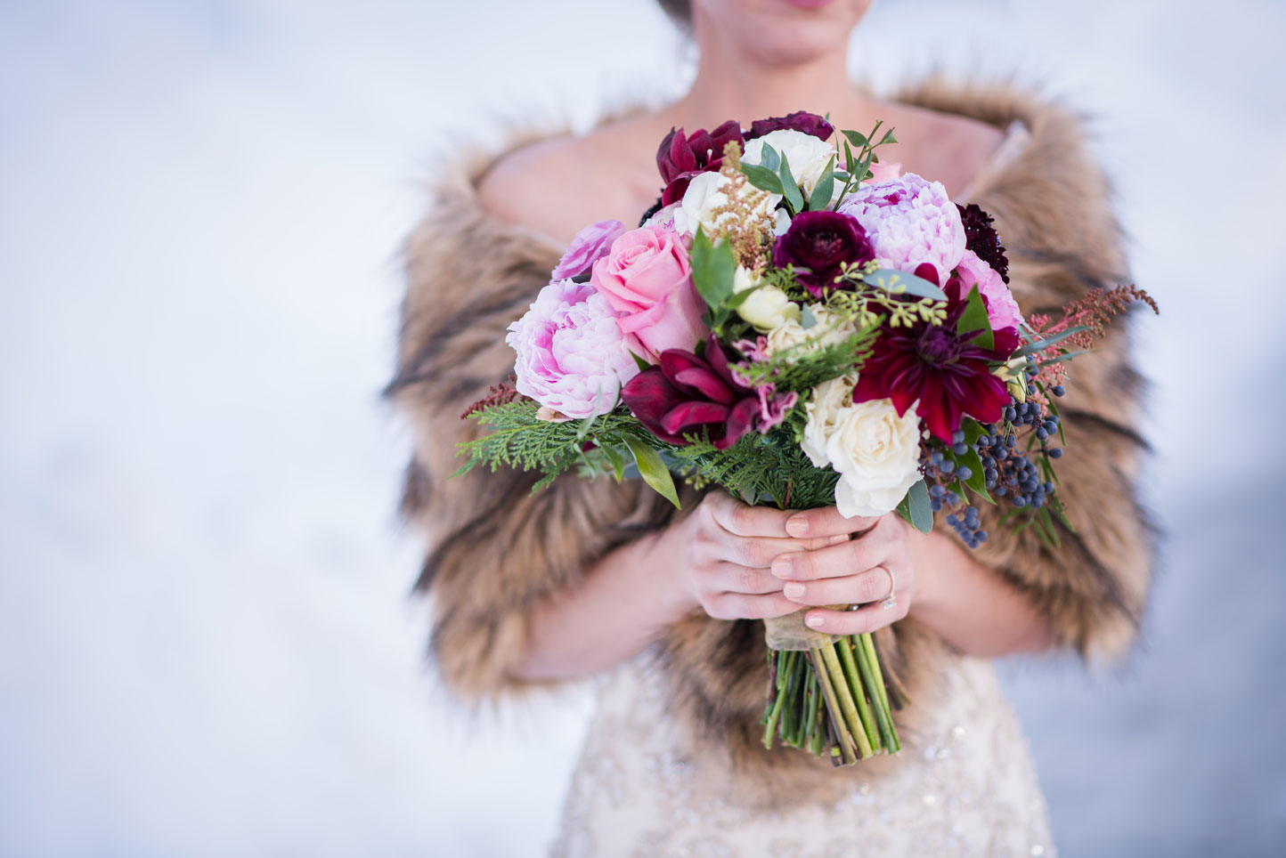 A Winter Destination Wedding in Breckenridge, Colorado