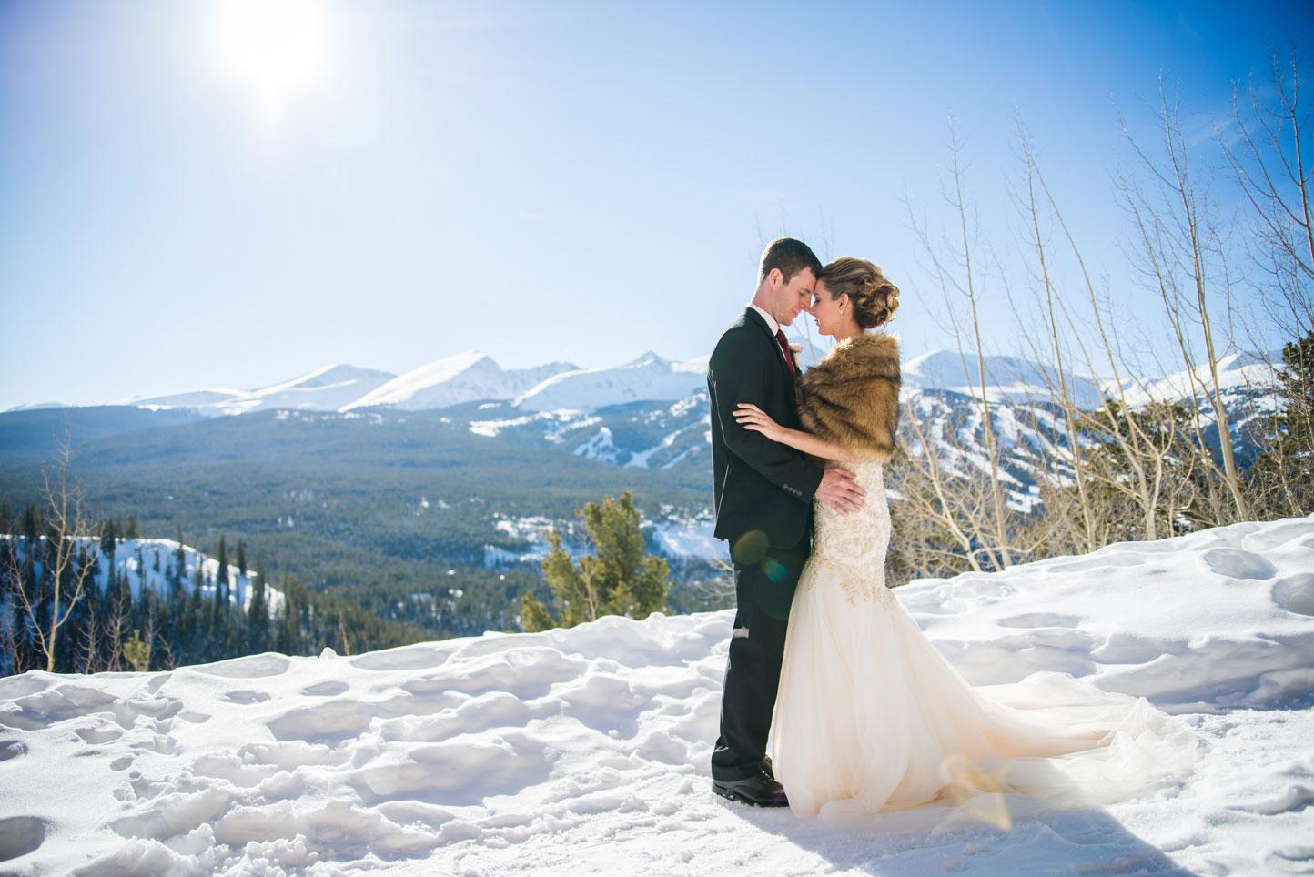 Colorado A Winter Destination Wedding In Breckenridge