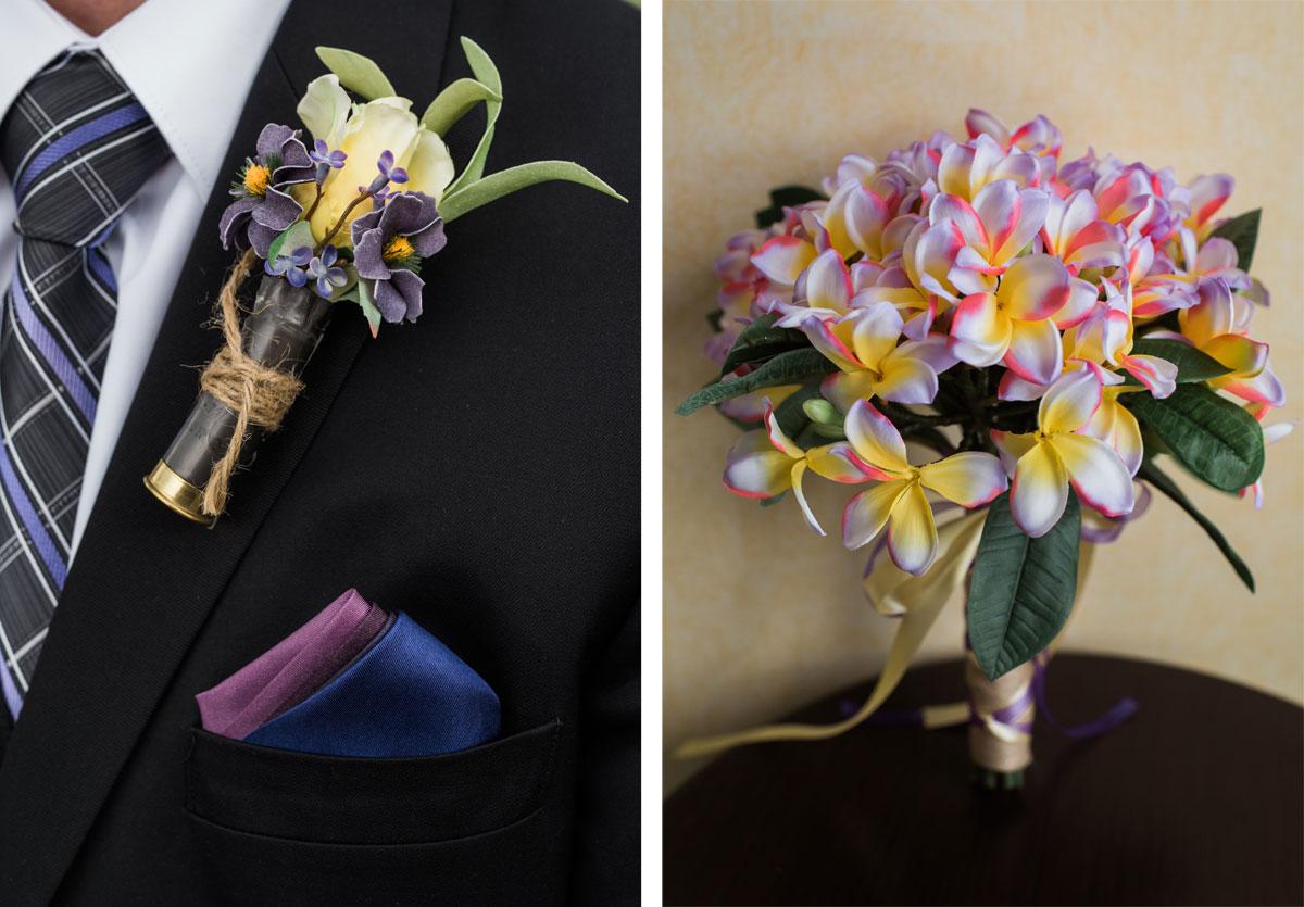 Hunting-Inspired Wedding at Colorado State University