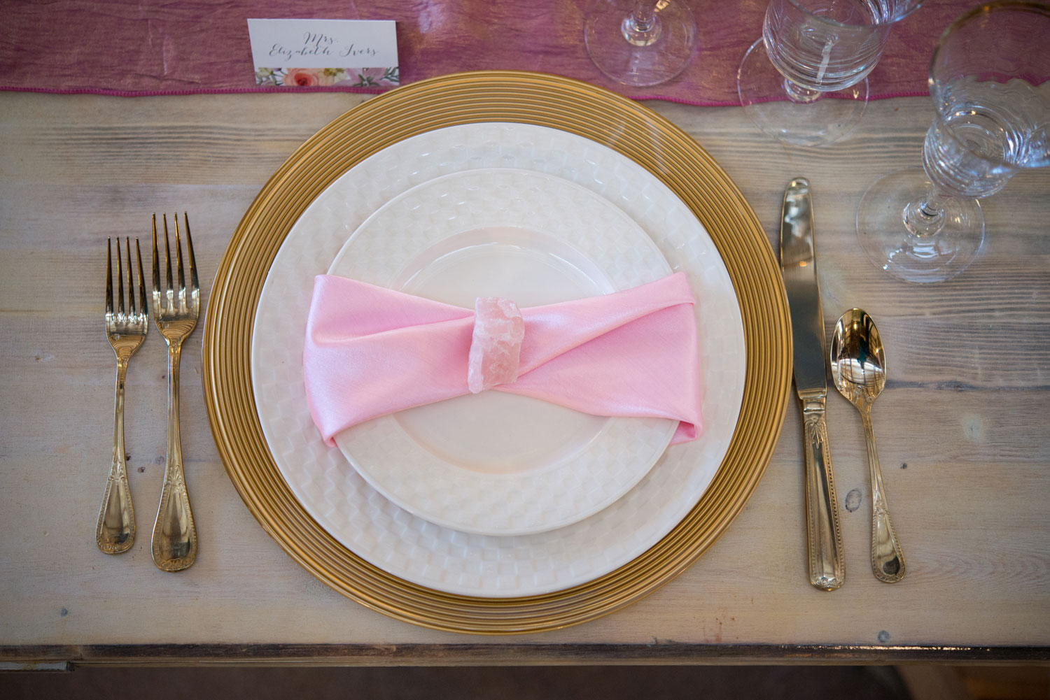 Styled Shoot: Rose Quartz Chic